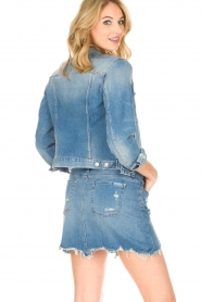 7 For All Mankind |  Denim jacket Eclipse | blue  | Picture 7