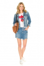 7 For All Mankind |  Denim jacket Eclipse | blue  | Picture 3