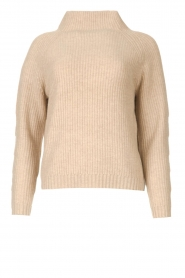 JC Sophie |  Knitted sweater Joyce | light brown   | Picture 1