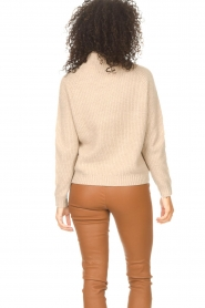 JC Sophie |  Knitted sweater Joyce | light brown   | Picture 6