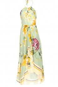 AnnaRita N |  Floral maxi dress Christy | groen  | Picture 1