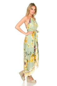 AnnaRita N |  Floral maxi dress Christy | groen  | Picture 4