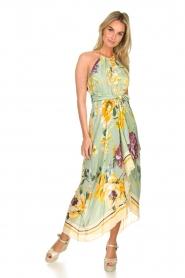AnnaRita N |  Floral maxi dress Christy | groen  | Picture 2