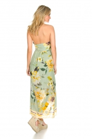 AnnaRita N |  Floral maxi dress Christy | groen  | Picture 5