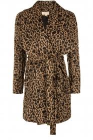 MICHAEL Michael Kors | Jas Leopard | camel/zwart  | Afbeelding 1