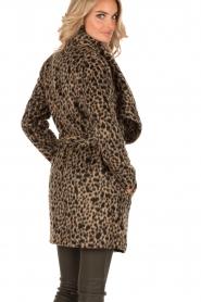 MICHAEL Michael Kors | Jas Leopard | camel/zwart  | Afbeelding 5