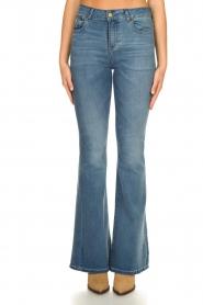 Lois Jeans |  L32 Flared jeans Rafaela | blue  | Picture 4