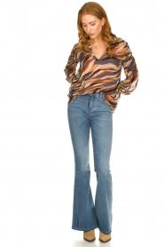 Lois Jeans |  L32 Flared jeans Rafaela | blue  | Picture 3