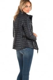 Down jacket Belted | dark blue