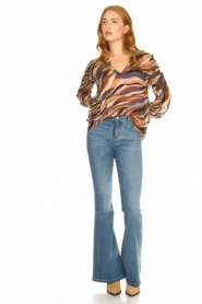 Lois Jeans |  Flared jeans Rafaela | blue  | Picture 2