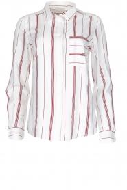IKKS | Gestreepte blouse Aurore | wit  | Afbeelding 1