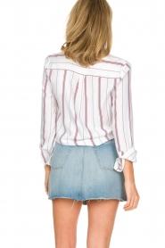 IKKS | Gestreepte blouse Aurore | wit  | Afbeelding 6