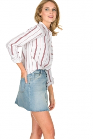 IKKS | Gestreepte blouse Aurore | wit  | Afbeelding 5