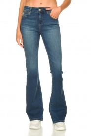 Lois Jeans :  L34 Flared jeans Raval | blue - img4