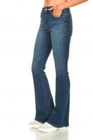 Lois Jeans :  L34 Flared jeans Raval | blue - img5