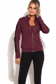 Deblon Sports | Vest Sue | bordeaux  | Afbeelding 2