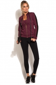 Deblon Sports | Vest Sue | bordeaux  | Afbeelding 3