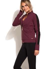 Deblon Sports | Vest Sue | bordeaux  | Afbeelding 4