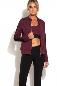 Deblon Sports | Vest Sue | bordeaux  | Afbeelding 6