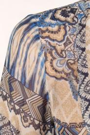 Hale Bob | Zijden blouse Melanie | blauw  | Afbeelding 6