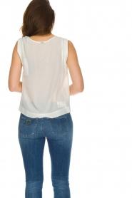 IKKS |  100% silk top Britta | white  | Picture 5
