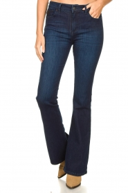 Lois Jeans |  L32 Flared jeans Raval | dark blue  | Picture 4