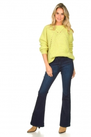 Lois Jeans | L32 Flared jeans Raval | donkerblauw  | Afbeelding 2
