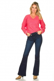 Lois Jeans |  L32 Flared jeans Raval | dark blue  | Picture 3