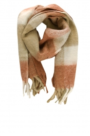 JC Sophie |  Knitted scarf Juanita | brown  | Picture 1