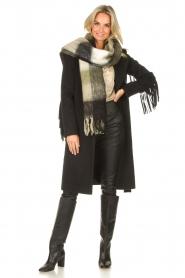 JC Sophie |  Knitted scarf Juanita | black  | Picture 2
