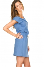 Blaumax |  Cotton dress Shelly | blue  | Picture 3