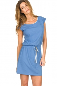 Blaumax |  Cotton dress Shelly | blue  | Picture 1