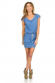 Blaumax |  Cotton dress Shelly | blue  | Picture 2