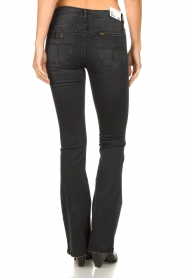 Lois Jeans |  L32 Flared stretch jeans Melrose | black  | Picture 6