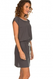 Blaumax |  Cotton dress Shelly | grey  | Picture 4