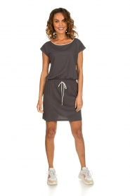 Blaumax |  Cotton dress Shelly | grey  | Picture 3