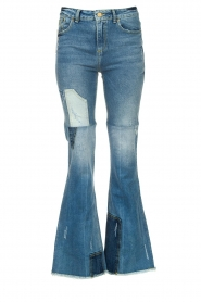 Lois Jeans |  Destroyed flared jeans Ramona | blue  | Picture 1