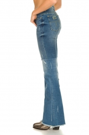 Lois Jeans |  Destroyed flared jeans Ramona | blue  | Picture 6