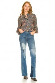 Lois Jeans |  Destroyed flared jeans Ramona | blue  | Picture 3