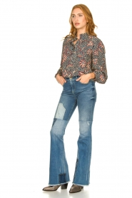 Lois Jeans |  Destroyed flared jeans Ramona | blue  | Picture 2