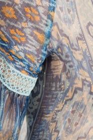Hale Bob | Zijden blouse Cindy | blauw  | Afbeelding 5