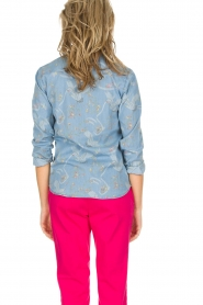 IKKS |  Denim blouse Clarice | blue  | Picture 5