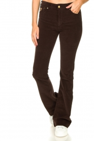 Lois Jeans |  L34 Jeans Raval Baby Rib | brown  | Picture 4