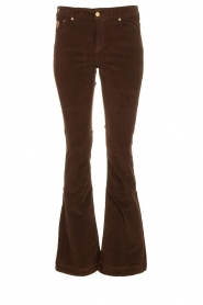 Lois Jeans |  L32 Jeans Raval Baby Rib | brown