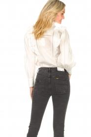 Magali Pascal |  Ruffle blouse Jacky | white  | Picture 6