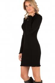 Dress Fine Fringe | black