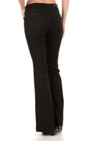 MICHAEL Michael Kors | Flared jeans Selma lengtemaat 34 | zwart  | Afbeelding 5