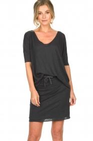 Blaumax | Linen T-shirt Nora | grey  | Picture 2