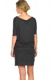 Blaumax | Linen T-shirt Nora | grey  | Picture 6