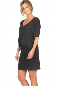 Blaumax | Linen T-shirt Nora | grey  | Picture 5